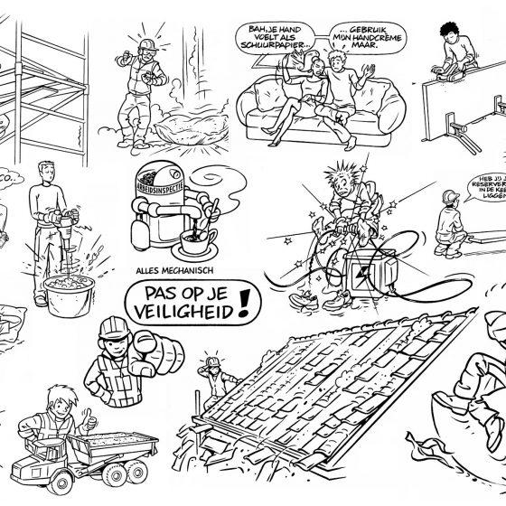ontwerp en illustraties t.b.v. 'Fundeon' i.o.v. Elgraphic.nl