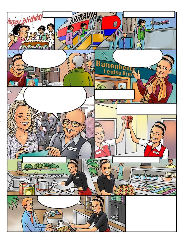 strip Eva-'Buitengewoon' i.o.v. Facilicom.nl