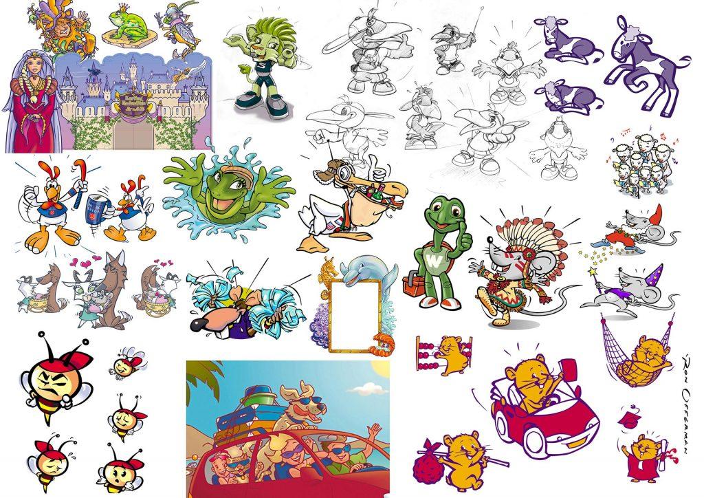 dieren karakters 1