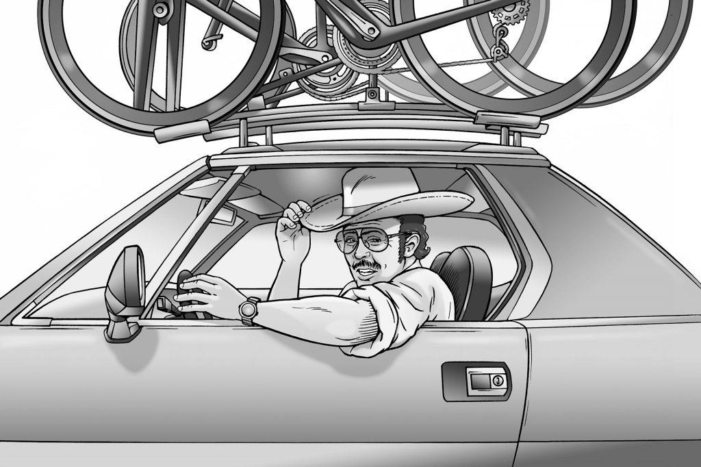 illustratie ploegleidersauto i.o.v. Lexenzo.nl