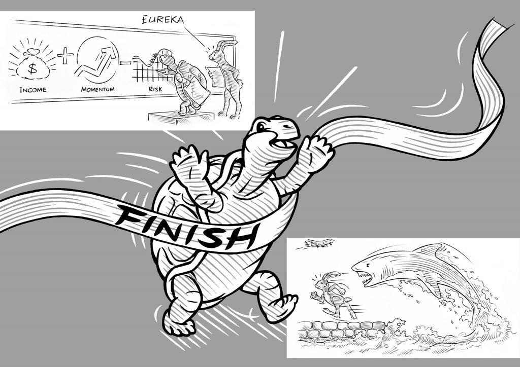 illustraties dieren t.b.v. Robeco i.o.v. wijZE reclame1