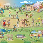 illustraties infoplaat GGD i.o.v. Lexenzo.nl