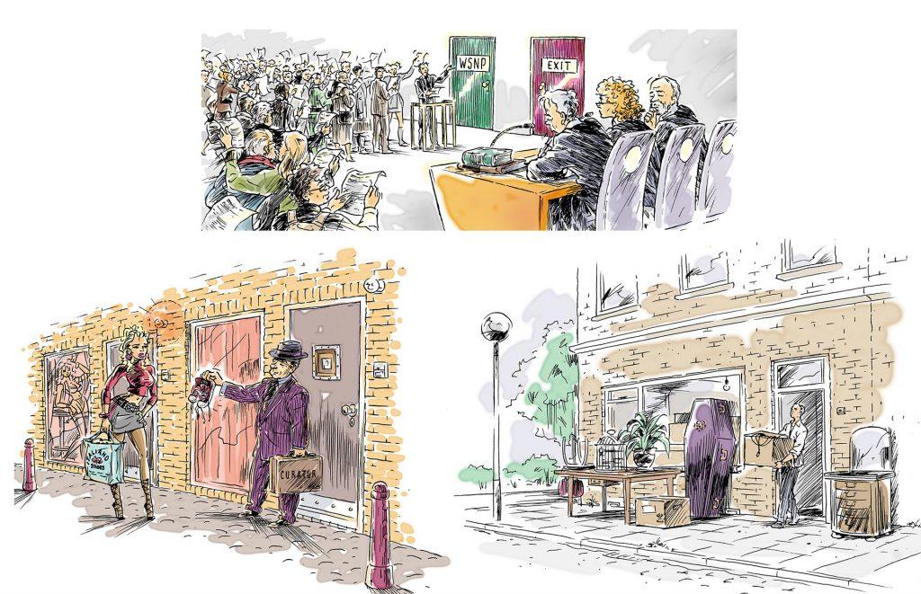 illustraties t.b.v. 'Flanderijn' i.o.v. Nico de Boer