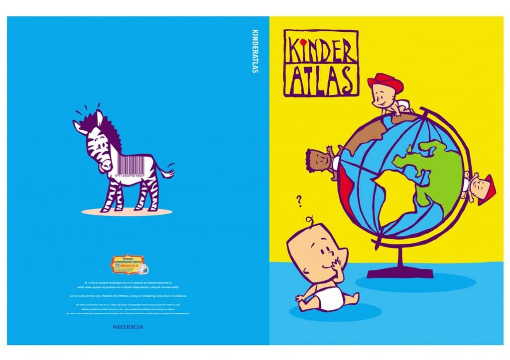 illustraties t.b.v. 'Kinderatlas'(Nutricia)(A)