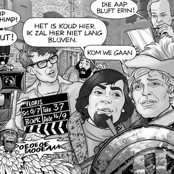 karikatuur 'Floris' i.o.v. Jaap Kooimans