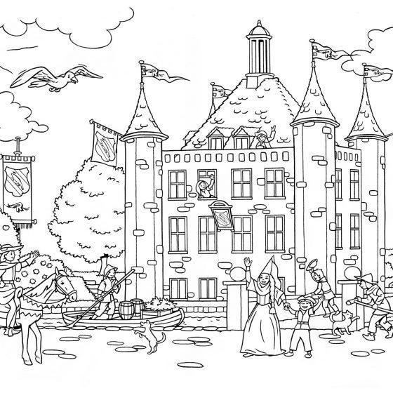 kleurplaat IJsselmonde