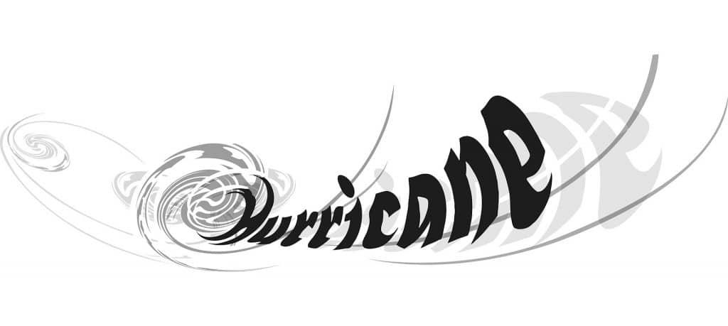ontwerp Hurricane Logo