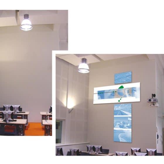 ontwerp concept t.b.v. wanddecoratie 'GEO-Delft'