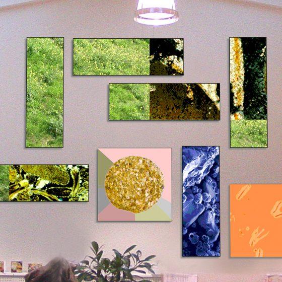 ontwerp en canvasprint 'GEO Delft'