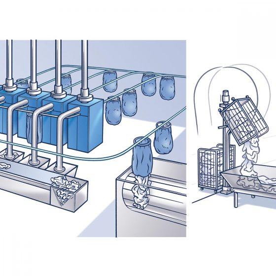 ontwerp en illustratie 'Dunnmatiek' i.o.v. MdW
