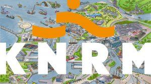 ontwerp en illustraties canon-poster KNRM i.o.v. Tekenteam.nl