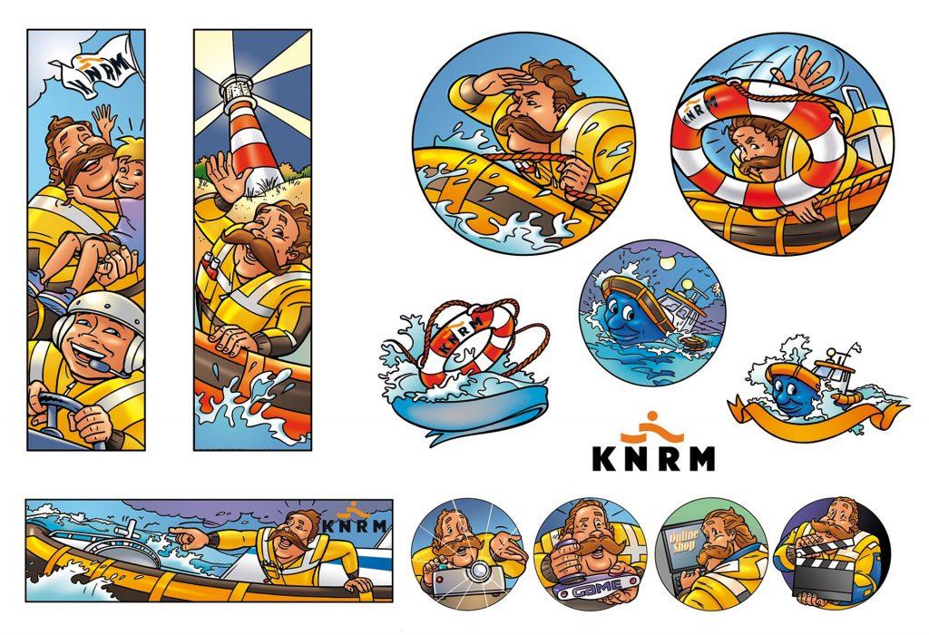 ontwerp en illustraties t.b.v. infographics 'Rinus Redder' i.o.v. Tekenteam.nl