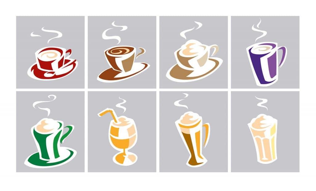 ontwerp pictogrammen t.b.v. 'van Oordt Koffie' i.o.v. Force 451