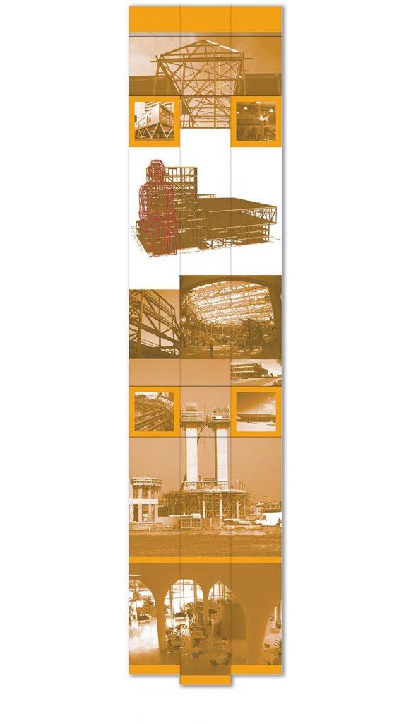ontwerp wanddecoratie t.b.v. 'IMD'