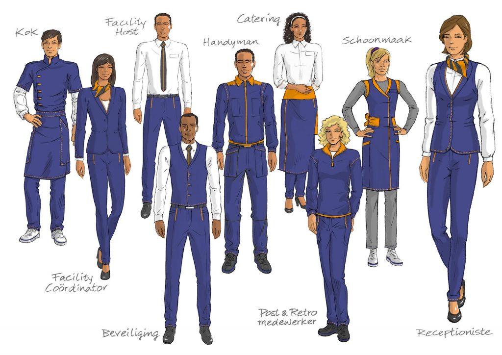 visuals & design FFS-TNT outfits i.o.v. Facilicom.nl